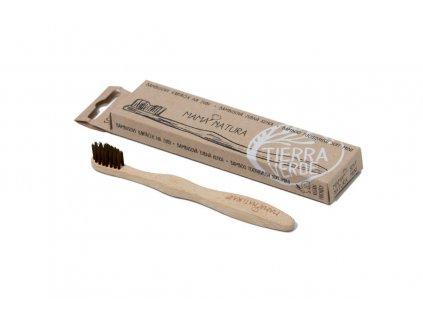 TIERRA VERDE Dětský bambusový kartáček na zuby 1 ks