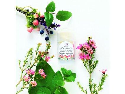 Biorythme 100% přírodní deodorant roll-on Růžová zahrada