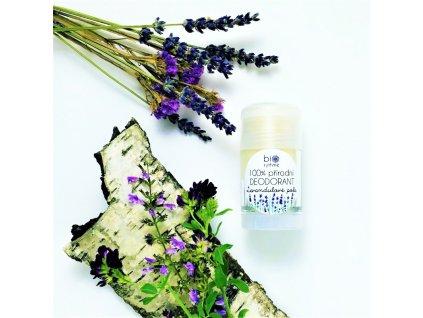 Biorythme 100% přírodní deodorant roll-on Levandulové pole