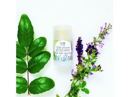 BIORYTHME 100% přírodní deodorant roll-on Pačuli, máta, rozmarýn