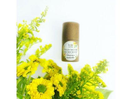 BIORYTHME 100% přírodní BEZSODÝ tuhý deodorant Citronová meduňka 35 g
