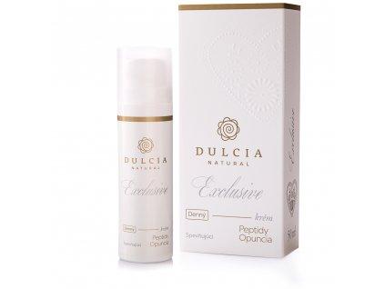 DULCIA NATURAL Exclusive Pleťový krém denní - zpevňující 50 ml