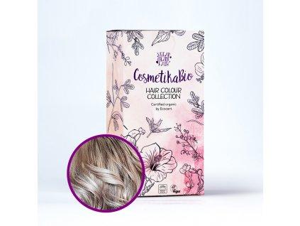COSMETIKABIO 100% přírodní barva na vlasy Popelavá blond l Ash Blonde 100 g