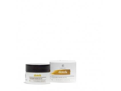 KLARA ROTT Dotek - Vyživující maska na rty pro hloubkové vyživení rtů 15 g