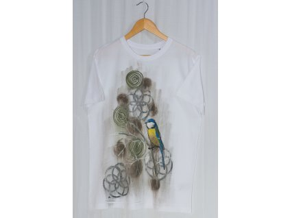 Ručně malované pánské tričko velikost XL