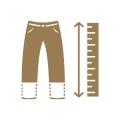 přizpůsobujeme délky těla, rukávů i nohavic
