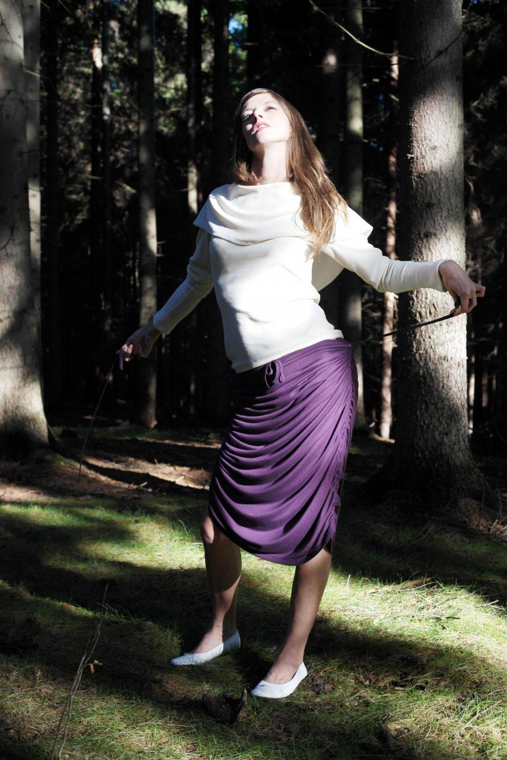 variabilní sukně dlouhá