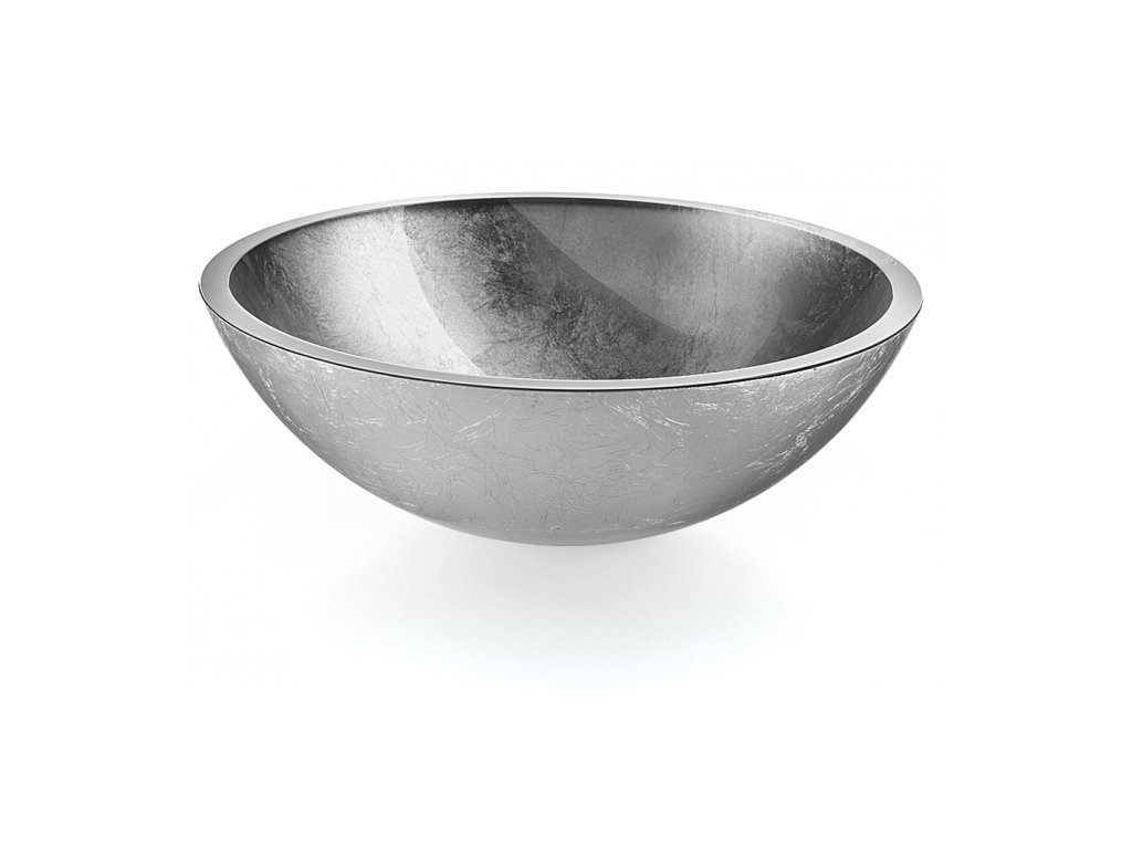 Lineabeta Acquaio Umyvadlo stříbrné 425 mm 53696.29.29