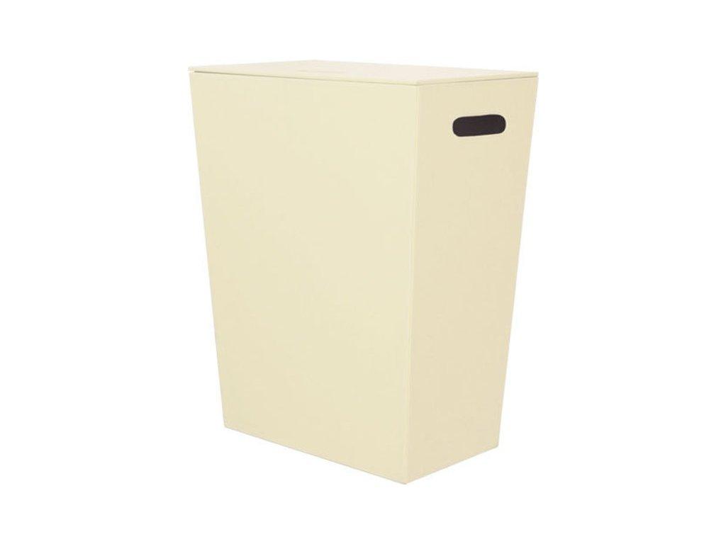 ECO PELLE koš na prádlo 47x30x60cm, krémová 2463CR