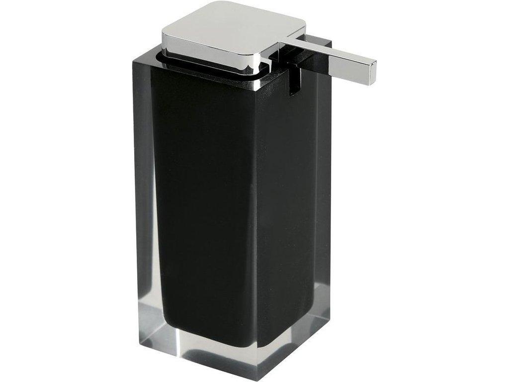 RAINBOW dávkovač mýdla na postavení, černá RA8014