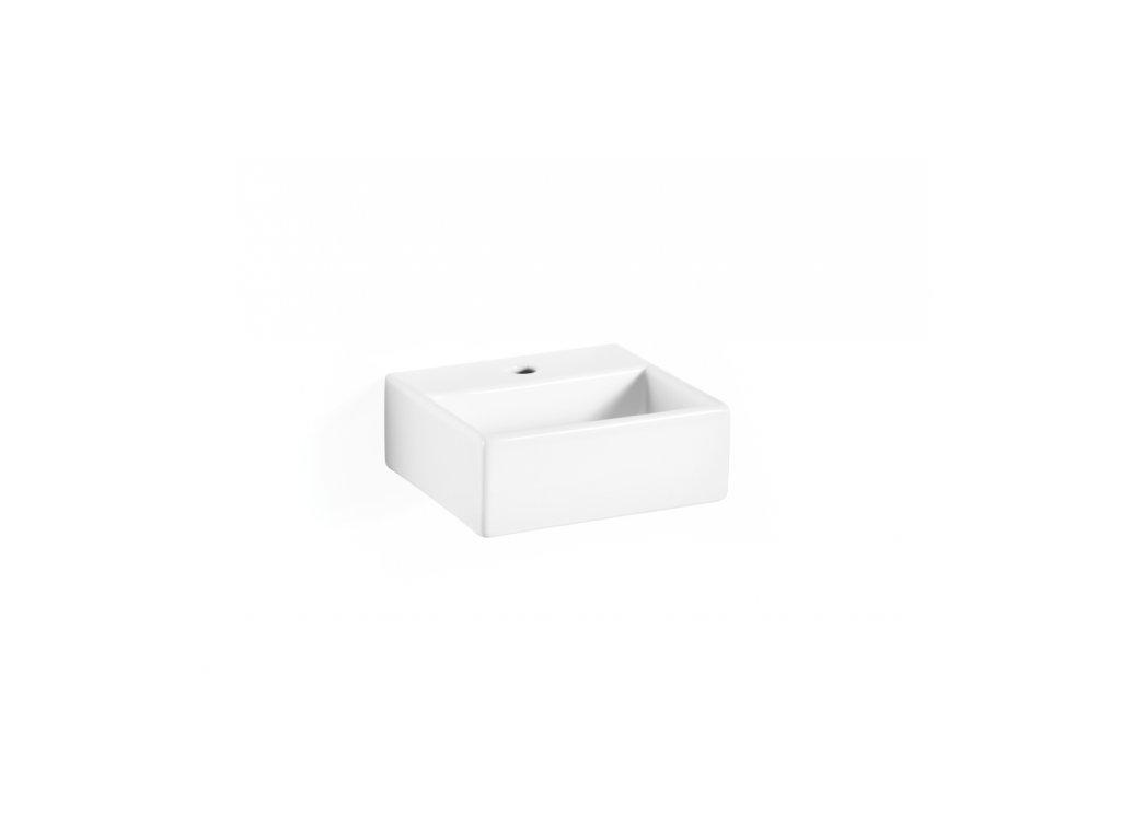 Lineabeta Quarelo Umývátko 32 cm bez přepadu  s otvorem pro armaturu 53706.29.09