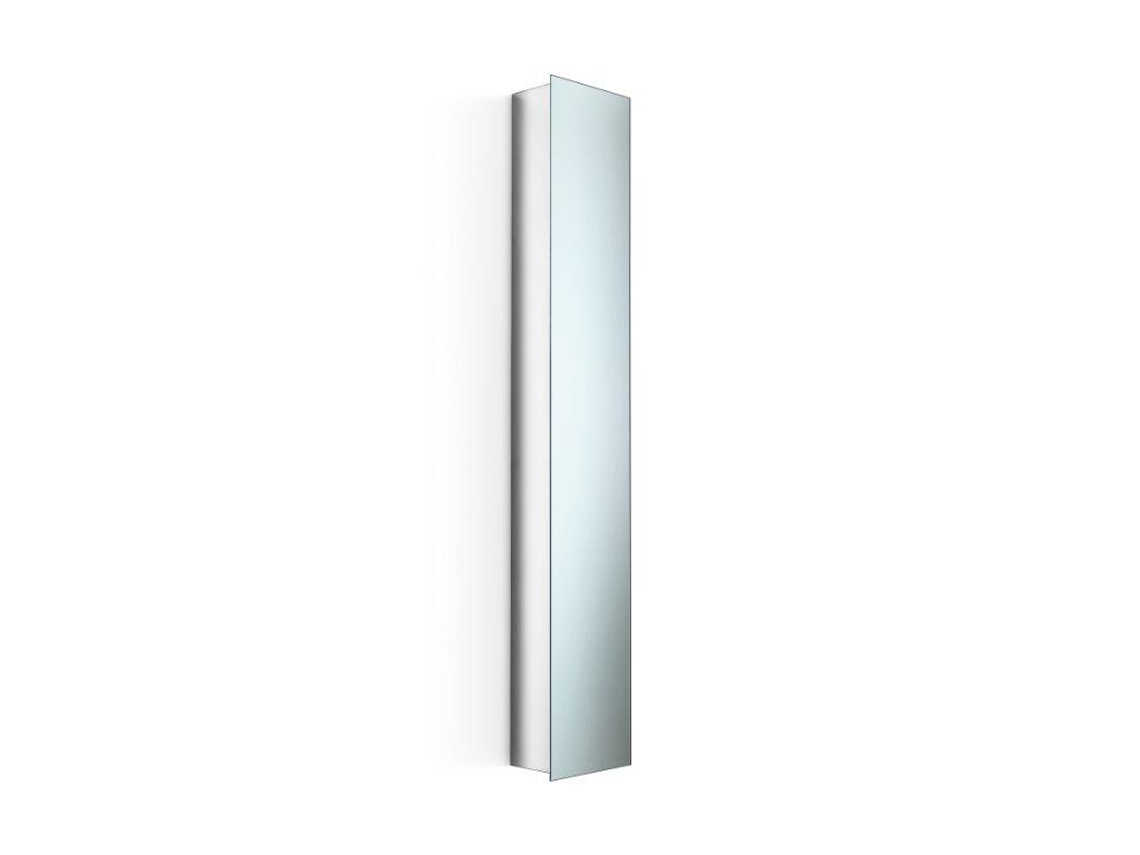 Lineabeta Piká skříň se zrcadlem - leštěná nerezová ocel 51504.29.79