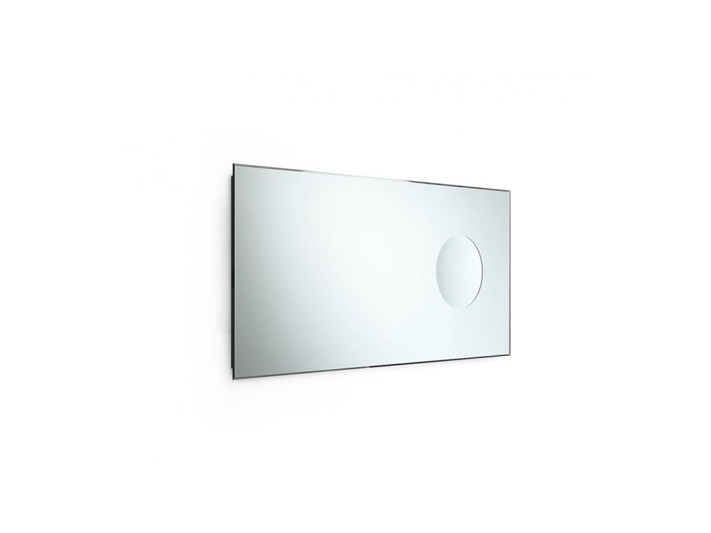 Lineabeta Speci Zrcadlo 44x90 cm s fazetou a integrovaným kosmetickým zrc. 5666