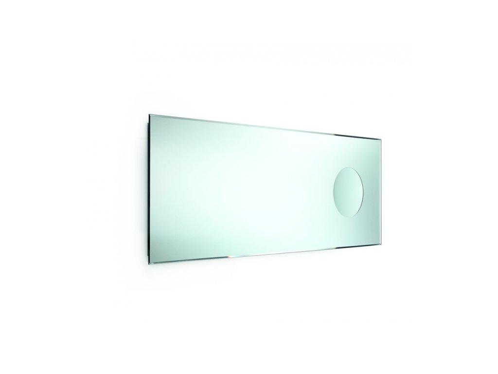 Lineabeta Speci Zrcadlo 44x110 cm s fazetou a integrovaným kosmetickým zrc. 5667
