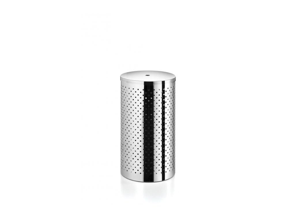Lineabeta Basket Koš na prádlo s víkem - leštěná nerezová ocel 5351.29.29