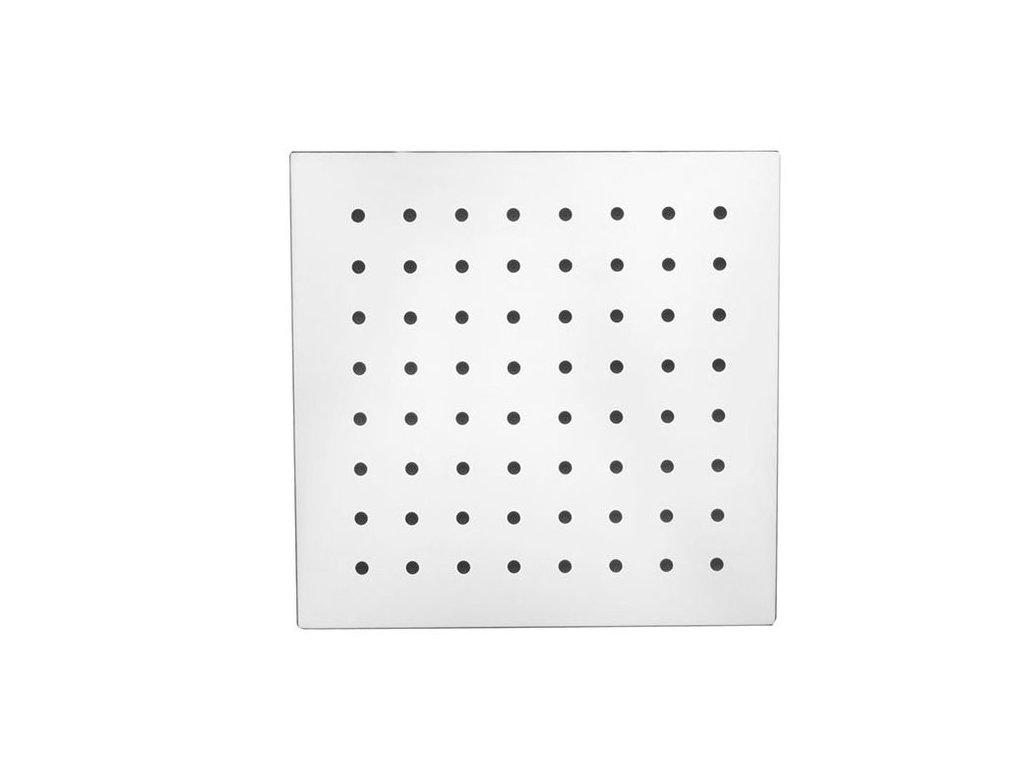 SLIM hlavová sprcha, čtverec 200x200mm, nerez