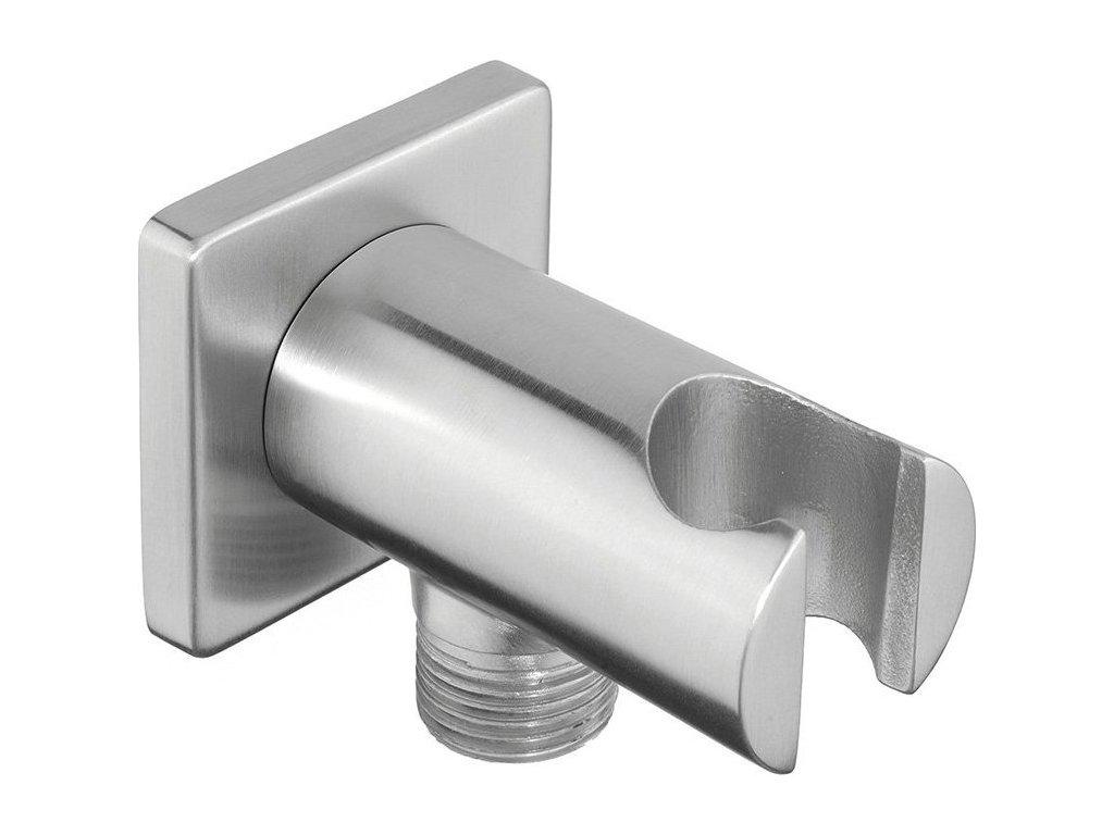 MINIMAL vývod sprchy s držákem, nerez   (MI035)