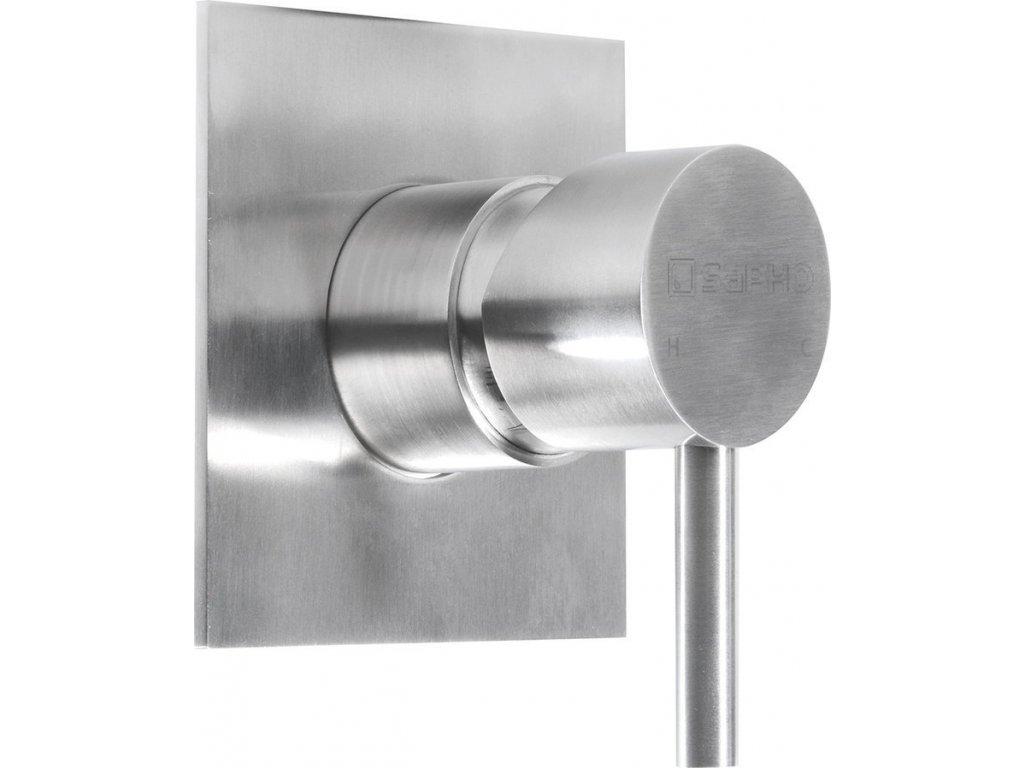 MINIMAL podomítková sprchová baterie, 1 výstup, nerez   (MI041)