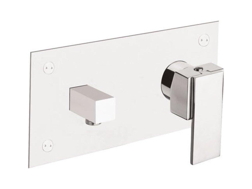 MASTERMAX podomítková sprchová baterie s vyústěním pro sprchu, chrom   (8785)