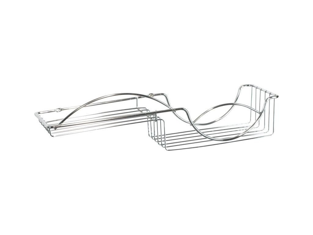 Olsen Spa drátěná polička 49,2x12,5x12,5cm KD02080053