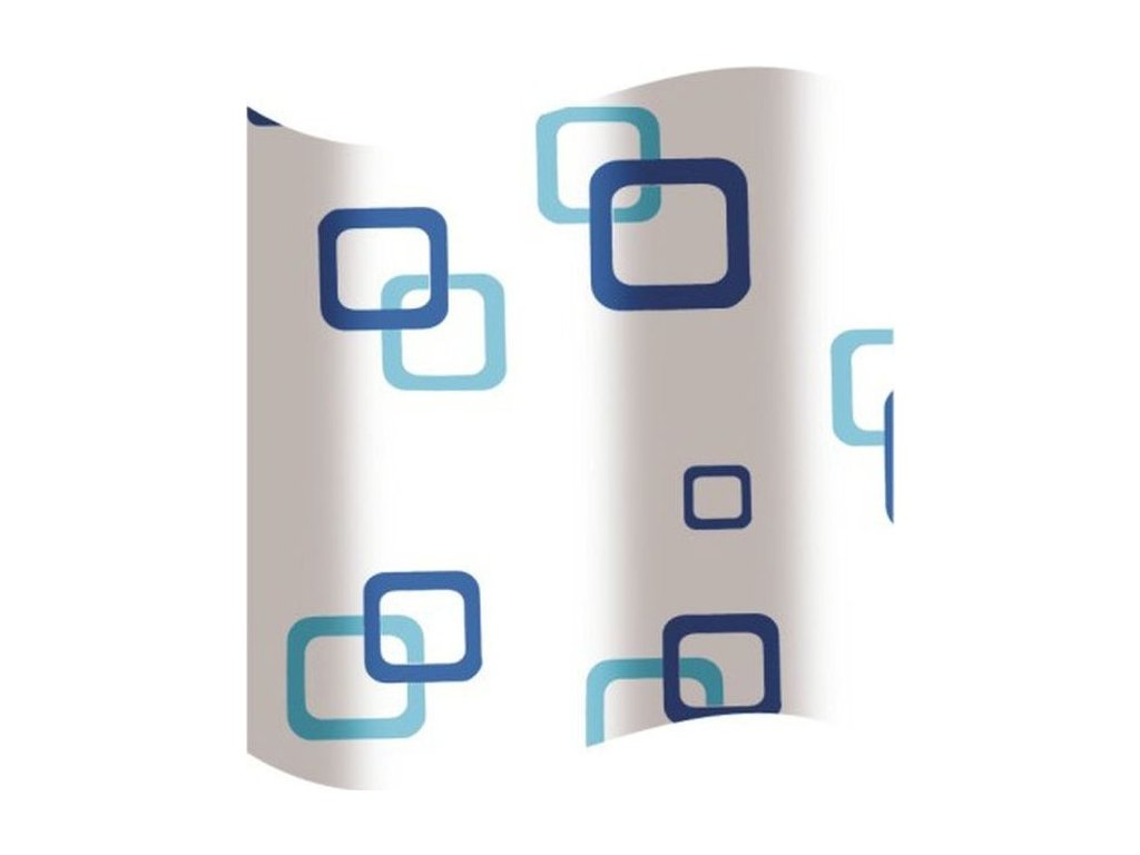 Olsen Spa koupelnový závěs plast 180×180 cm KD02100533