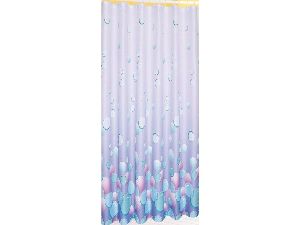 Závěs 180x180cm,100% polyester, světle fialová   (1096)
