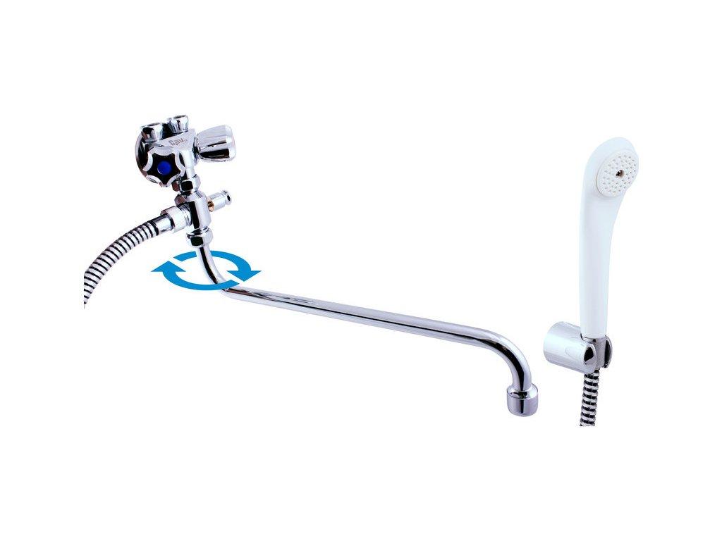 Slezák Rav Vodovodní baterie pro vanu a umyvadlo pro průtokové ohřivače EN056/1P