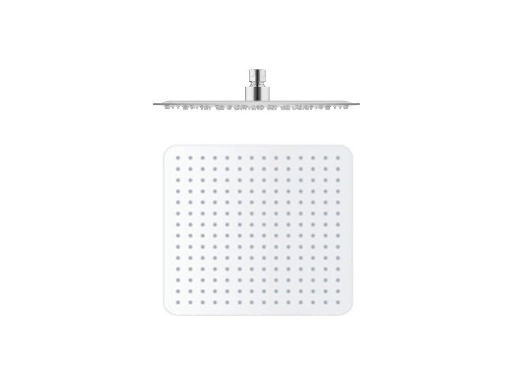 Slezák Rav Hlavová sprcha hranatá kovová 30x30 cm KS0004