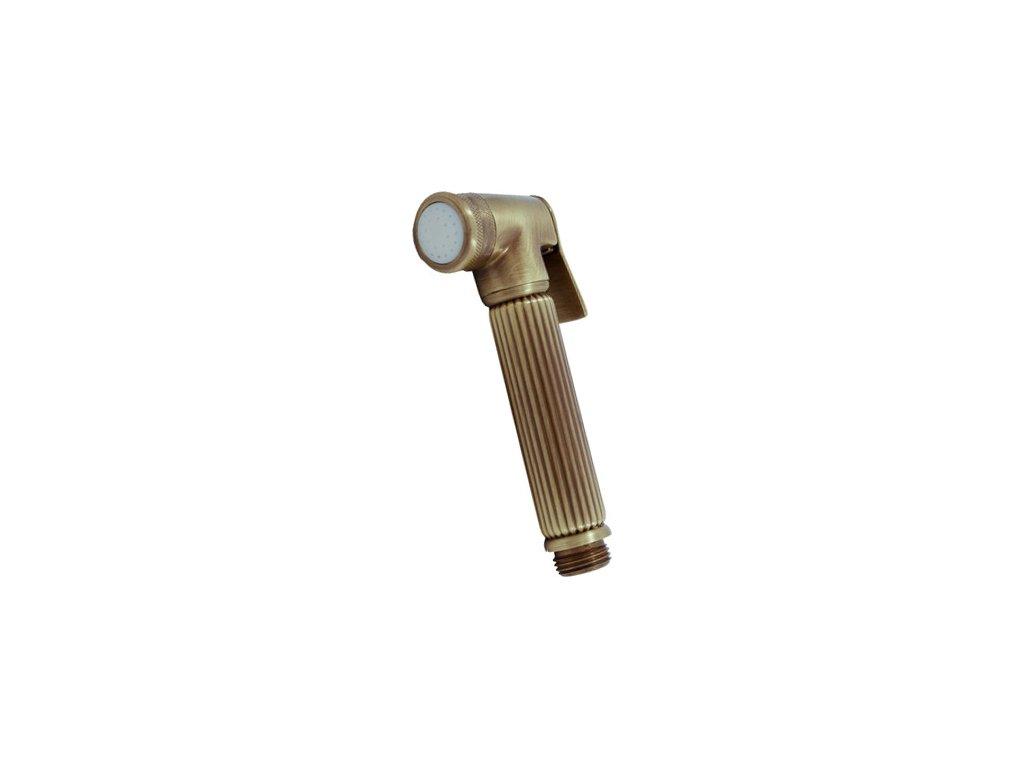 Slezák Rav bidetová sprcha se stop ventilem – kov – stará mosaz KS0005SM