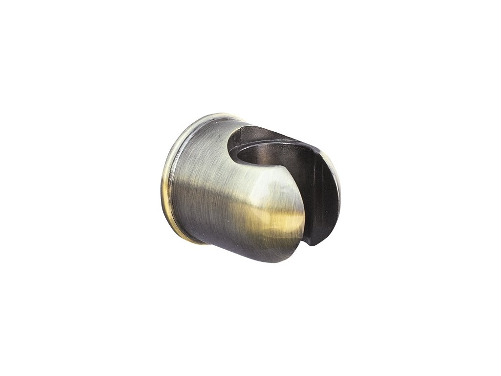 Slezák Rav držák sprchy pevný kulatý – kov – stará mosaz PD0004SM