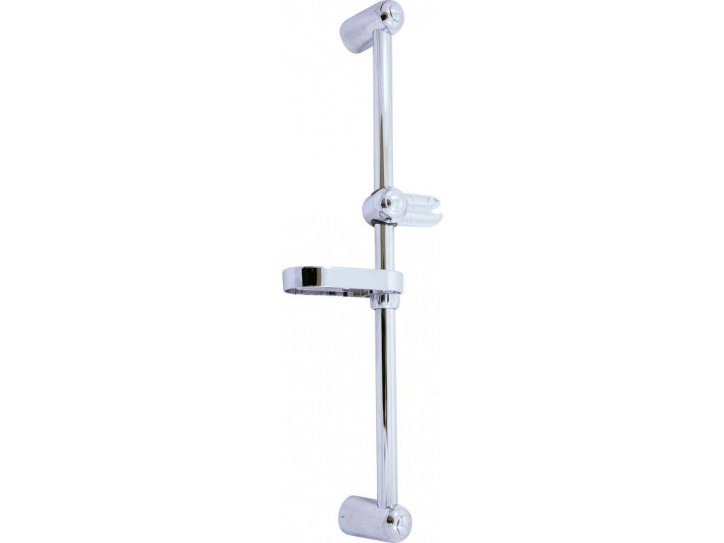 Slezák Rav sprchová tyč 60 cm, pr. 25 mm – kov/plast PD0016