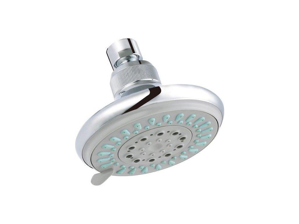 Slezák Rav sprchová růžice pro pevnou sprchu pr. 116 mm 5-polohová – plast PS0011