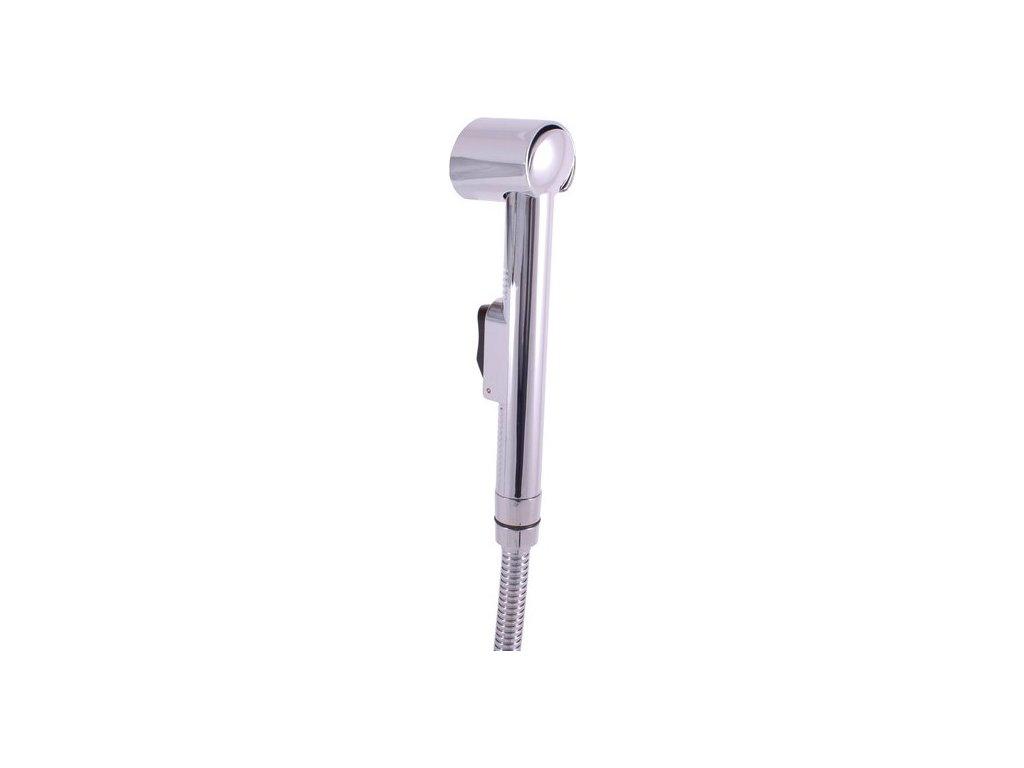 Slezák Rav sprchový komplet k bidetové baterii včetně držáku sprchy s tlačítkovým mechanismem – plast SK0038