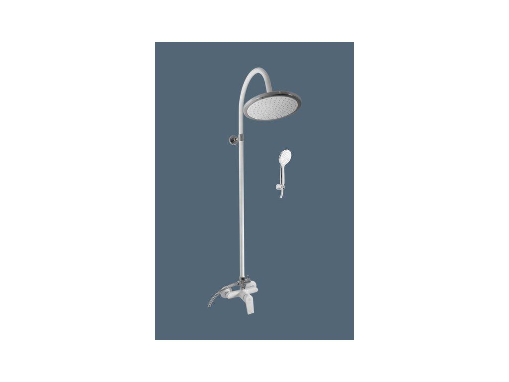 Slezák Rav Colorado baterie sprchová 150mm s hlavovou a ruční sprchou bílá/chrom