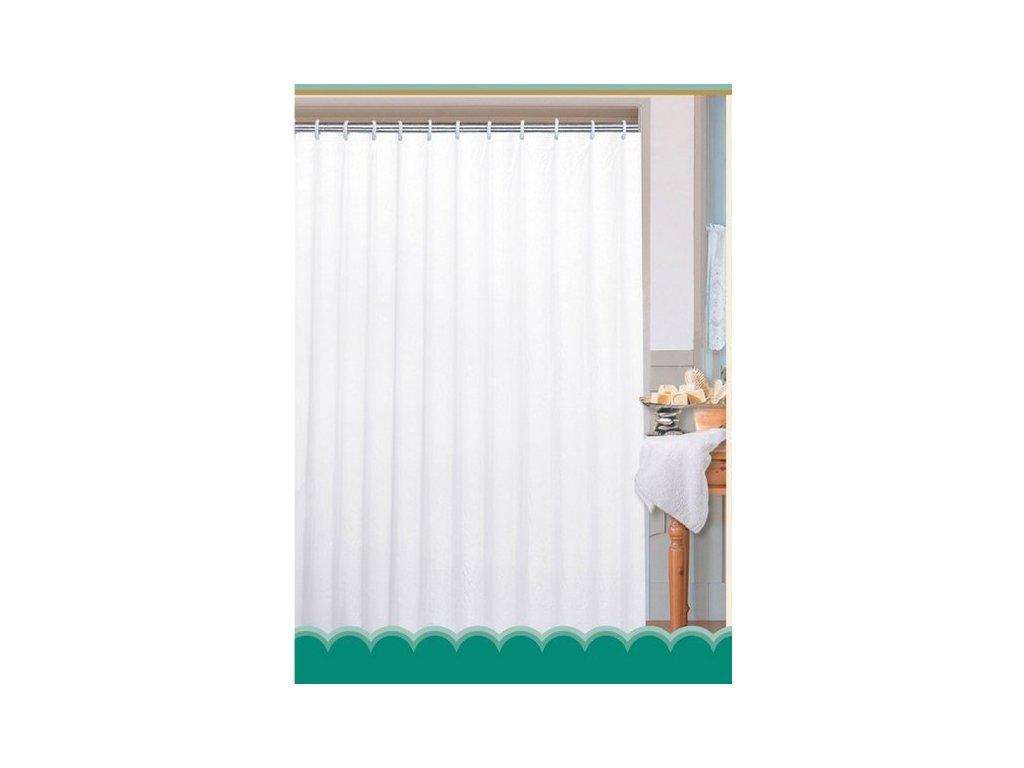 Závěs 180x200cm, 100% polyester, jednobarevný bílý 0201104 B  Na tento produkt poskytujeme množstevní slevu