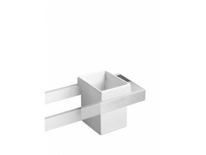Lineabeta Skuara keramický kalíšek na zubní kartáčky 52801.09