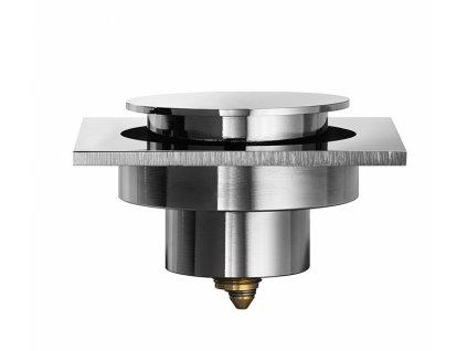 Lineabeta Busi E Cane Automatický podlahový odtok 100x100mm chrom 53960.29