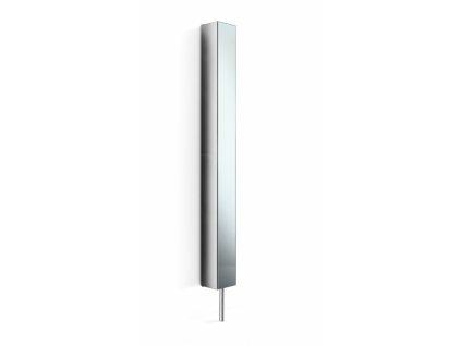 Lineabeta Piká otočná skříň se zrcadlem - leštěná nerezová ocel 51505.29