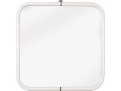 Zrcadlo 44x44cm, bílá 8000  Český výrobek s ověřenou kvalitou