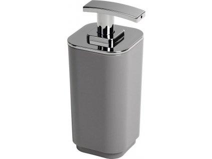 SEVENTY dávkovač mýdla na postavení, šedá 638208  Seventy je série koupelnových doplňků na postavení, které jsou vyrobeny z termoplastu.