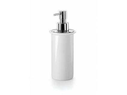 Lineabeta Spriz Dávkovač mýdla porcelán 200 ml, bílá, 55006.09