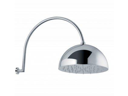 Lineabeta Supioni Hlavová sprcha zvonová, boční montáž, 20 cm, 53919.29