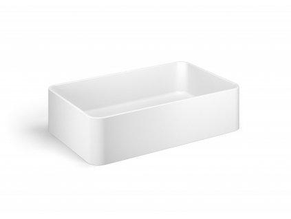 Lineabeta Quarelo umyvadlo na desku 58,5cm bílá matná 53703.26