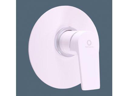 Slezák Rav Colorado baterie sprchová vestavěná bílá/chrom CO183LBC
