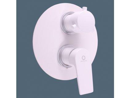Slezák Rav Colorado baterie sprchová vestavěná s přepínačem bílá/chrom CO186KBC