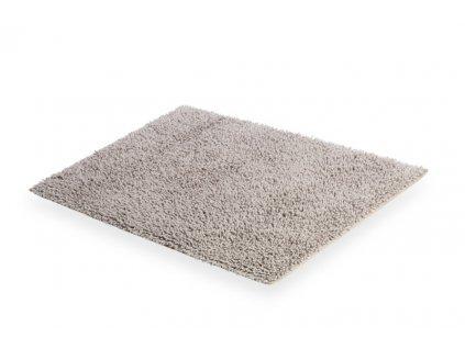 Lineabeta Tapei koupelnová předložka 60x100 cm, bavlna, šedá 71922.53