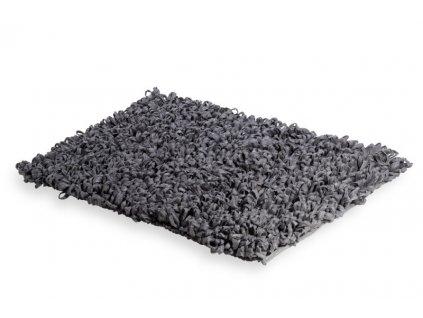 Lineabeta Tapei koupelnová předložka 60x120 cm, bavlna, šedá 71918.53