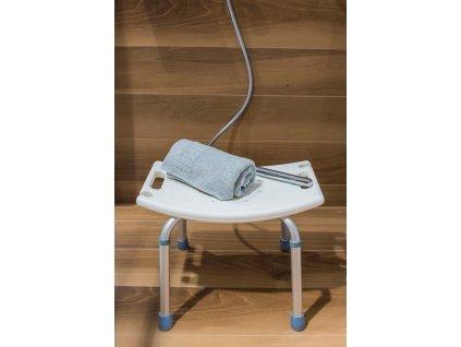 Olsen Spa sprchová stolička hranatá 51 x 42 x 37 - 55,3 cm KD02331409