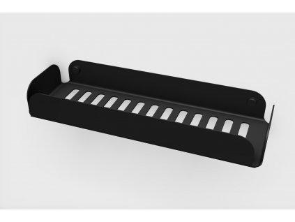 Lineabeta Filo police 300mm černá matná 50035.18