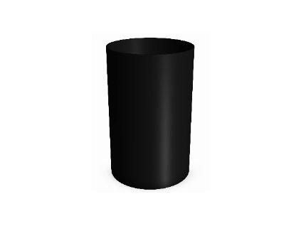 Lineabeta Basket Koš na papír černá matná 5345.22